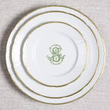 monogrammed dishes 91 best custom monograms crests heraldry designs for