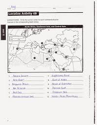 Southwest Asia And North Africa Map Mr E U0027s World Geography Page Chapter 17 The Physical Geography