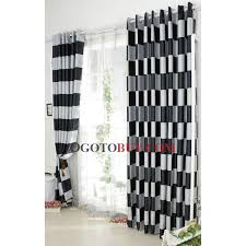 108 Inch Black And White Curtains 108 Inch Curtains