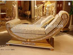 luxury french style living room chaise lounge royal palace golden