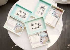 gifts to ask bridesmaids to be in wedding 6 ideas to ask will you be my bridesmaid mazelmoments