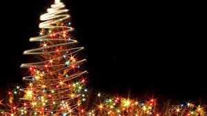 christmas tree backgrounds christmas lights decoration