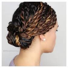 Protective Styles For Short Transitioning Hair - two strand twists are a protective style that can help to minimize
