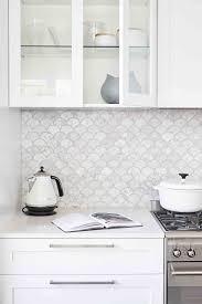white backsplash for kitchen 14 white marble kitchen backsplash ideas you ll