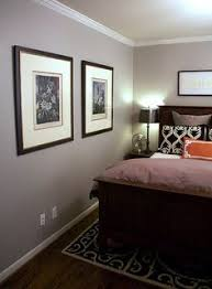example of sherwin williams lazy grey in well lit room a