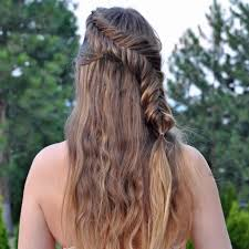 11 cute fishtail braid hairstyles for long hair fash circle