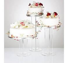 acrylic cake stands emily design clear acrylic cake stand from 13 79