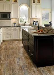 Flooring For Kitchen Kitchen Excellent Kitchen Wood Tile Flooring Traditional Kitchen