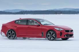 nissan 370z winter driving 2018 kia stinger gt winter drive motor trend