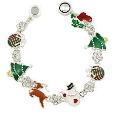 magnetic bracelet gold plated images Christmas jewelry jpg