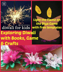 crafty moms share exploring diwali with books game u0026 craft
