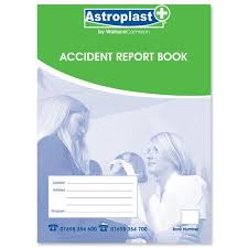 accident reporting book a5 accident report books individual report form wc 5401001
