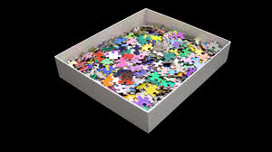 cymk puzzle test your perception of color with this 1000 piece puzzle of the
