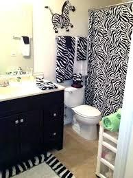 animal print bathroom ideas zebra print bathroom sets animal print shower curtain brown zebra