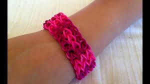 rubber bracelet made images Rainbow loom bracelet get inspired to make them yourself rubber jpg