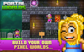 growtopia mod apk pixel worlds rename from portal worlds apk version 1 1 60