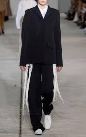 elkann straight blazer by jil sander moda operandi