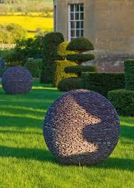 slate garden sphere this lights up cool website patio garden