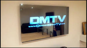 frameless pictures 55 frameless led mirror tv displaying 3d effects youtube