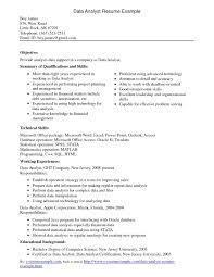 Sample Resume For Finance Examples Of Resumes Sample Resume With Sap Experience Abap