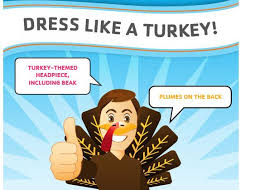 dress up like a turkey set a world record in dallas on