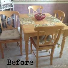 Damask Dining Chair Darling Damask Stenciled Dining Set By Just The Woods