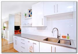 Kitchen Cabinets White Gloss Image Gallery HCPR - White gloss kitchen cabinets