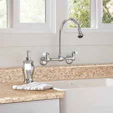 wall mount kitchen faucet with spray kitchen faucet buying guide