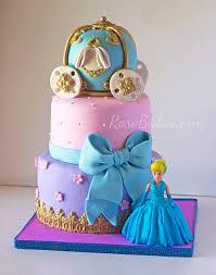 cinderella birthday cake behance