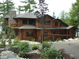 Cottage Rentals Parry Sound by Luxury 7 Bedroom Waterfront Loghome Homeaway Mcdougall