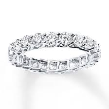 eternity ring jared diamond eternity ring 2 ct tw cut 14k white gold