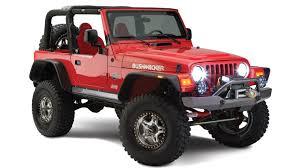 2011 jeep wrangler fender flares bushwacker flat fender flares for jeeps partcatalog com