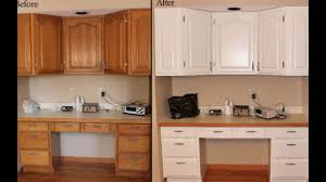 Professionally Painted Kitchen Cabinets by Painting Wooden Kitchen Cupboards Youtube