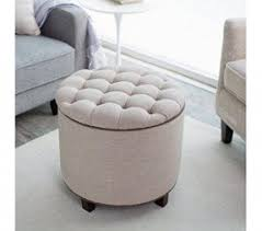 small round ottomans foter