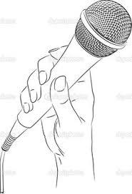 colorable microphone u2026 pinteres u2026