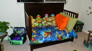 Teenage Mutant Ninja Turtles Twin Bed Set by Memoirs From The Belly How We Turned My Son U0027s Room Into An