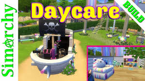 the sims 4 speed build colourful petals daycare u0026 playground for