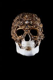venetian mask skull venetian mask baroque style for sale