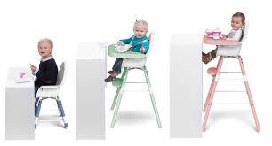 chaise enfant evolutive chaise haute évolutive pour enfants 12 modèles côté maison