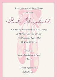 ballerina baby shower invitations dhavalthakur com