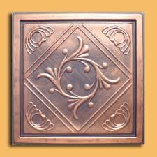 Stick On Ceiling Tiles by Anet Antique Bronze Ps Glue On Ceiling Tiles Antique Ceilings