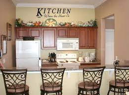 ideas for decorating kitchen walls cool large kitchen wall decor and kitchen decorating ideas wall