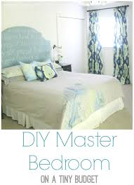 Decorating Bedroom On A Budget by Diy Master Bedroom Sources Tutorials And Budget Lovely Etc