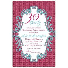 template 40th birthday invitations for her endearing invitation