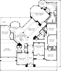 2500 sq ft house plans single story extremely inspiration 6 4 bedroom house plans one story for 2 acres