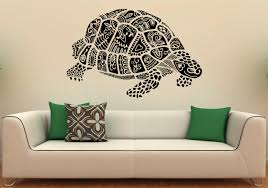 Bedroom Wall Graphic Design Sea Turtle Wall Decal Vinyl Stickers Sea Animals Home Interior