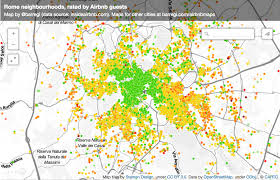 Stamen Maps Maps Of Airbnb Reviews Reveal How Tourists Understand New Cities