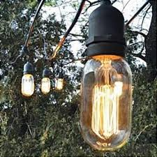 Outdoor Bulb Lights String by Awesome Vintage String Lights Best Home Decor Inspirations