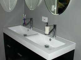 corner double sink bathroom vanities black vanity white oval