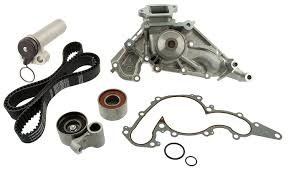 toyota lexus v8 oil pump amazon com aisin tkt 021 engine timing belt kit with water pump
